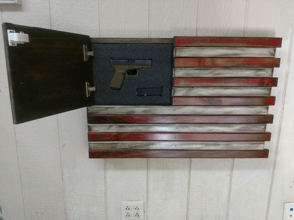 Secret Compartment Flag Concealment Flag Koozie Storage