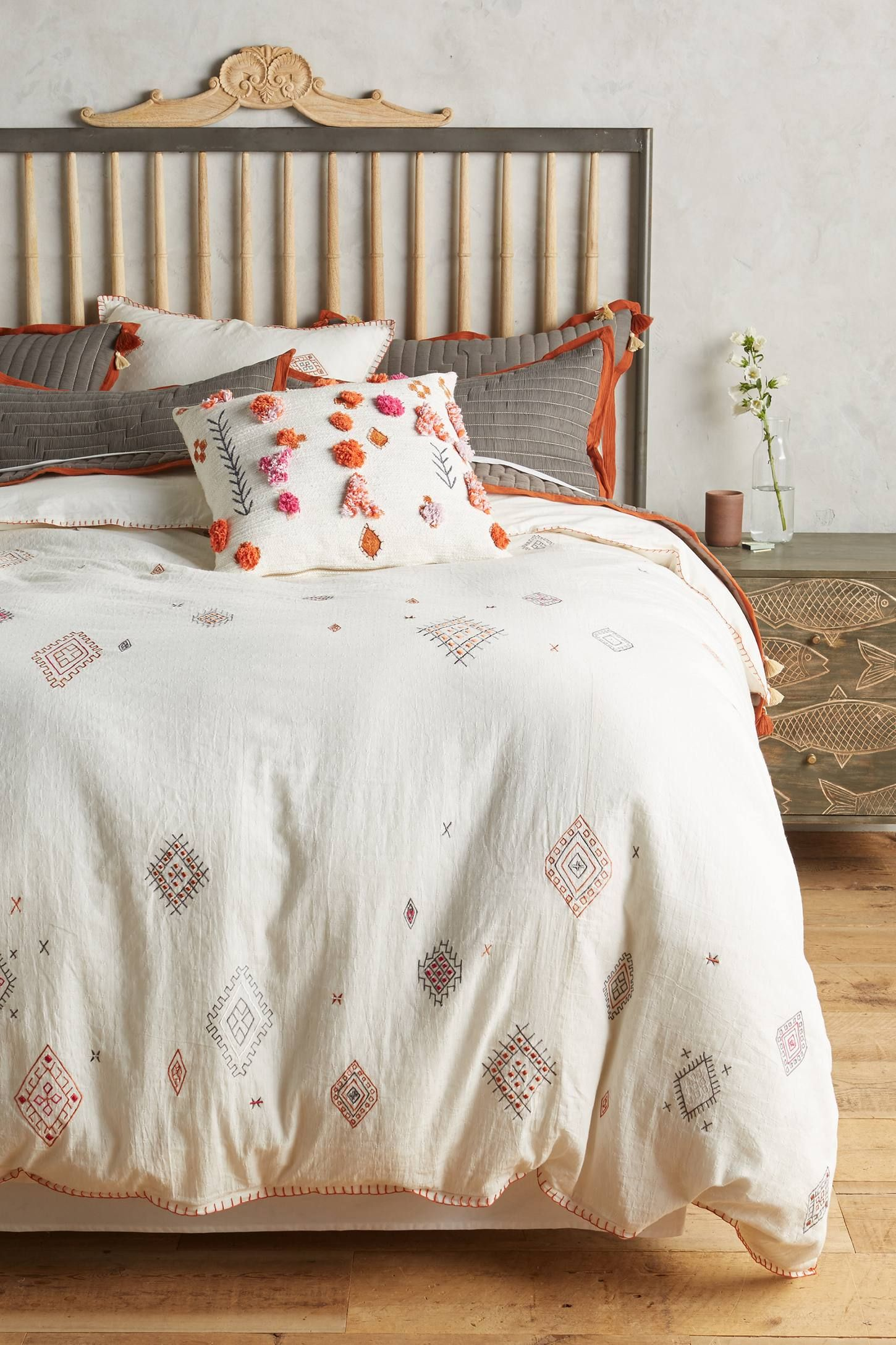 Schlafzimmer Trends 2016 Dreamy Anthropologie Bedrooms Embroidered Palermo Duvet