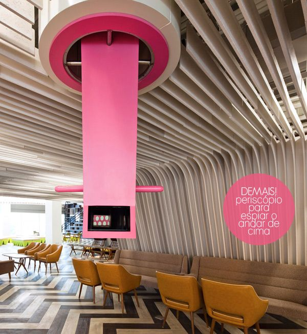 cool pink periscope #decor