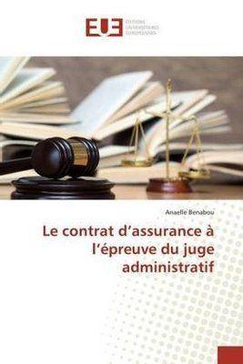Photo of Le contrat d'assurance à l'épreuve du juge administratif. An…