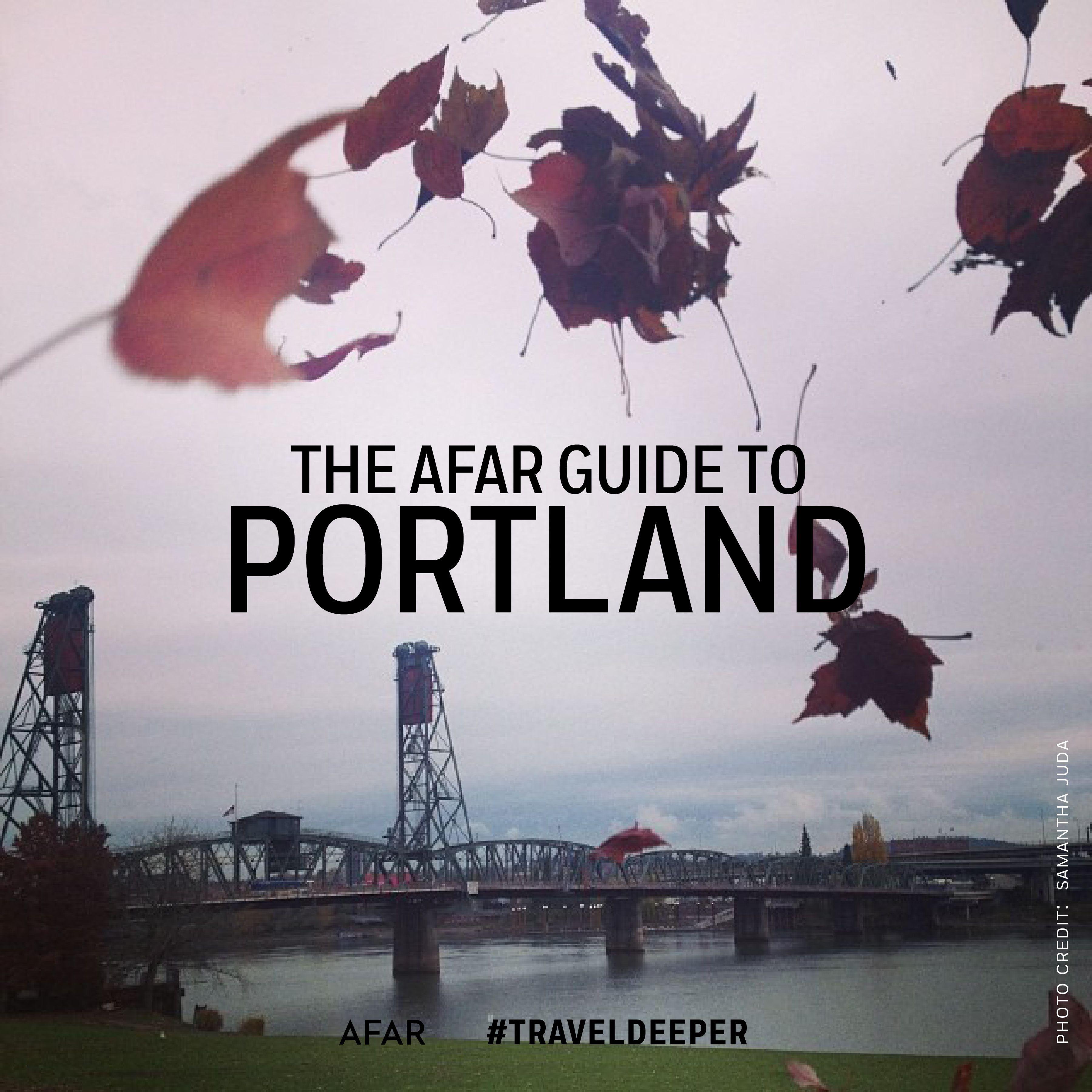 City of Portland West coast road trip, Portland city
