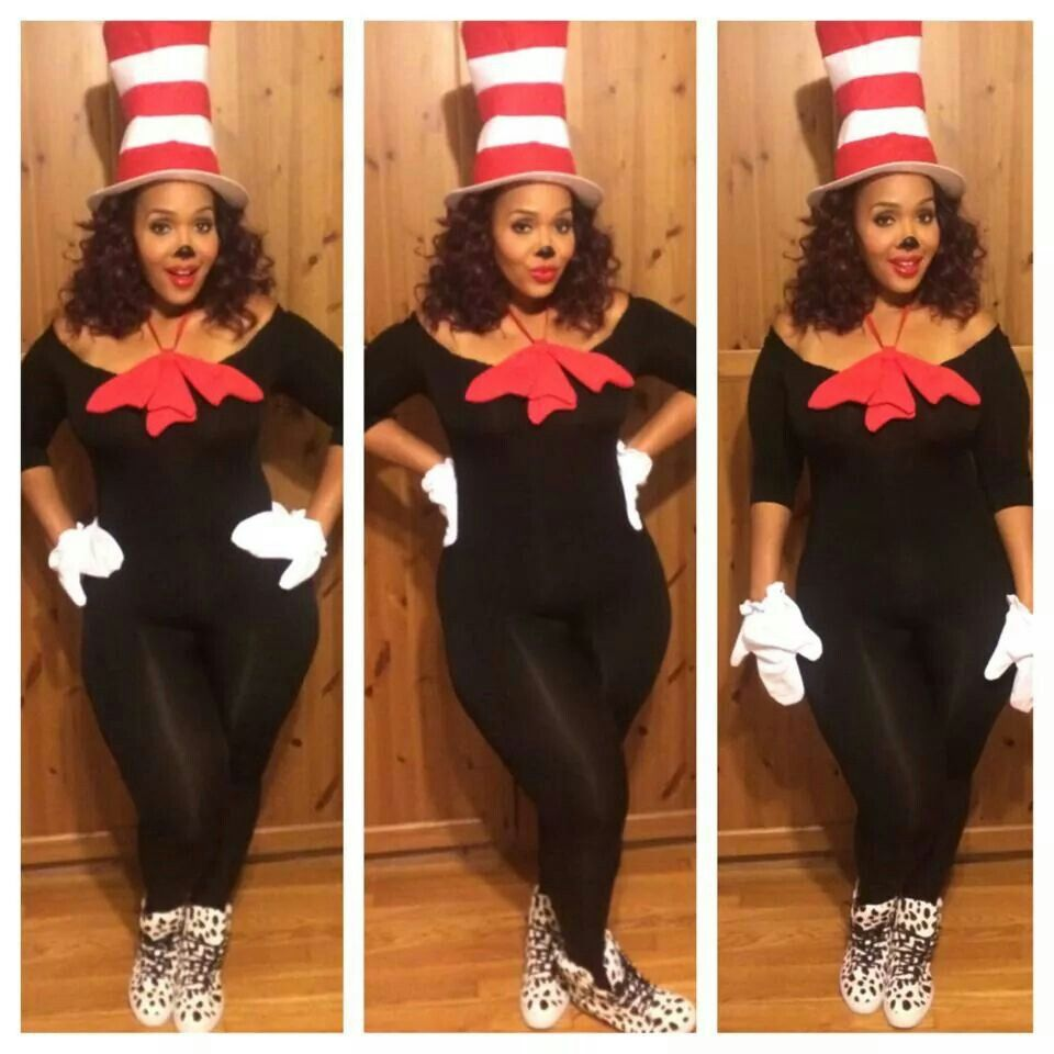DIY Black Cat Costume for Women (Using Clothes from Your ...  |Diy Kitty Costume Adult