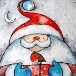 Santa's Gift Card Pack by Julia Crossland Art & Illustration