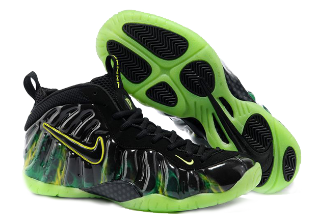 Where Can I purchase Foamposites 2012 Nike Air Foamposite Pro Paranorman  Electric Green Sneakers