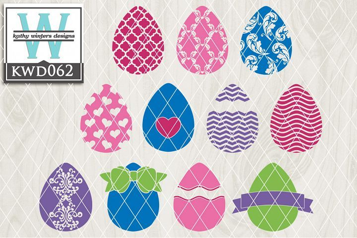 18+ Easter Cutting File Kwd062 DXF