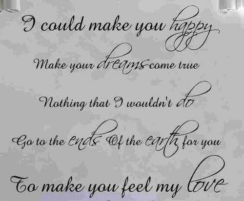 To Make You Feel My Love Garth Brooks Adele Lyrics Vinyl Quotes