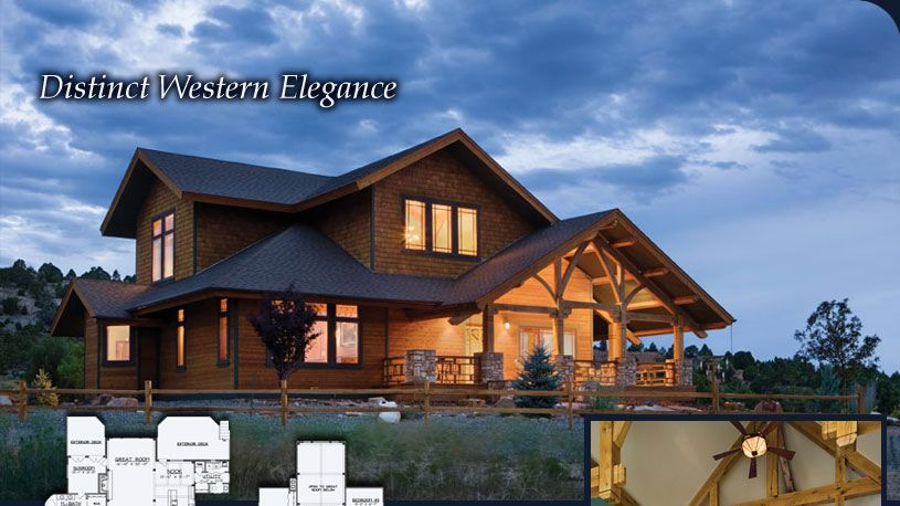 Distinct Western Elegance | Layouts | Pinterest