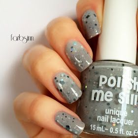 polish me silly - cloudy skies