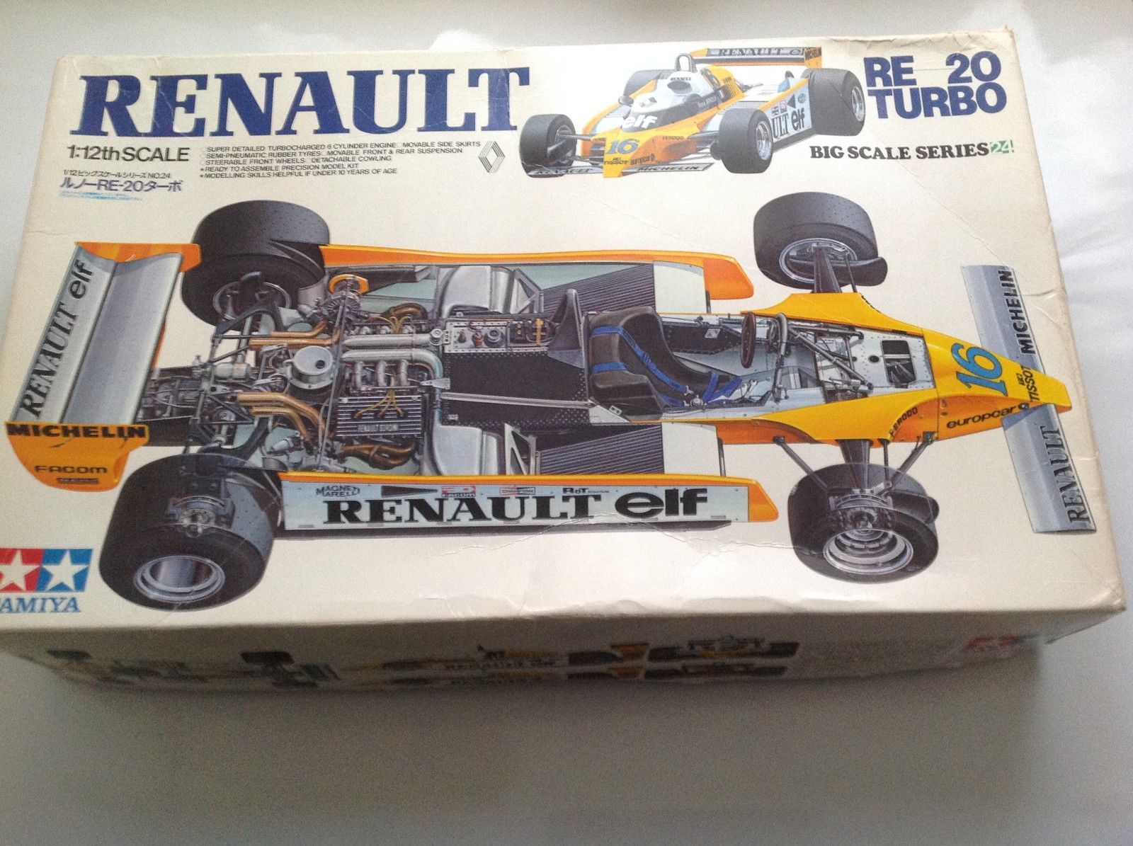 hobby kits 1 12 scale. Vintage Tamiya 1 12 Renault Re 20 Turbo F1 Jabouille Arnoux Race Car Kit | EBay Hobby Kits Scale T