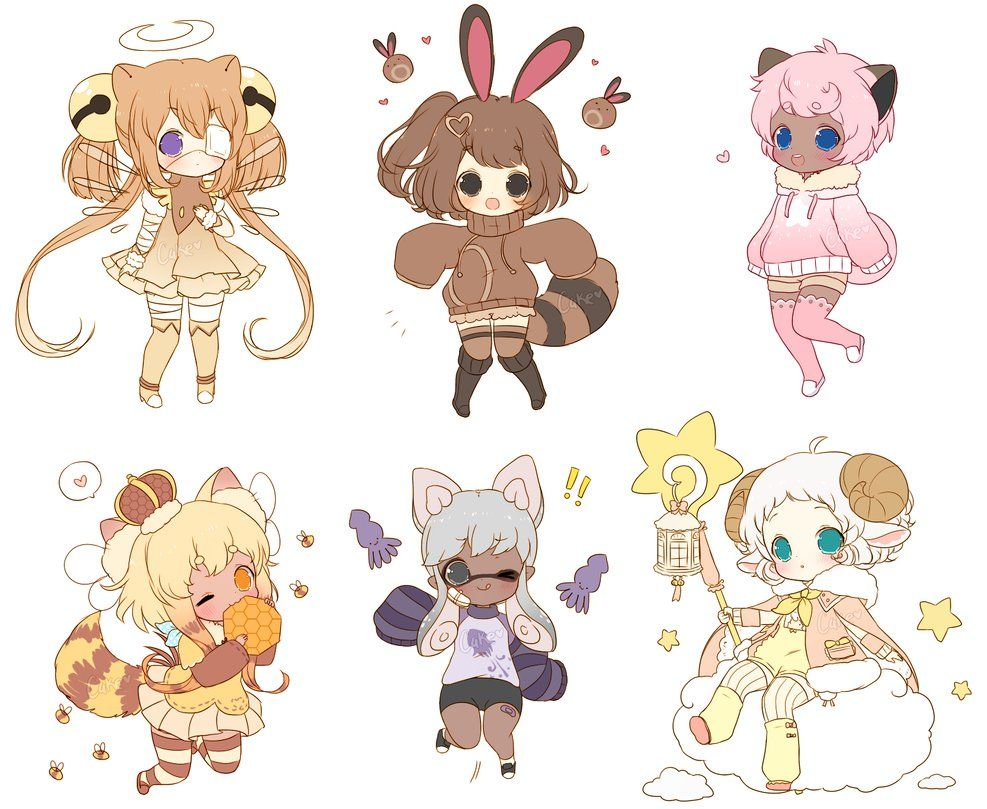 Chibi Sketch Batch 3 by on