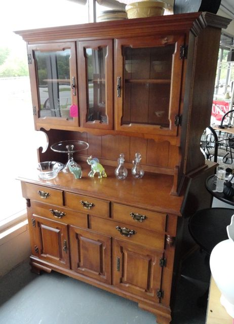 Tell City Maple China Hutch 175 00