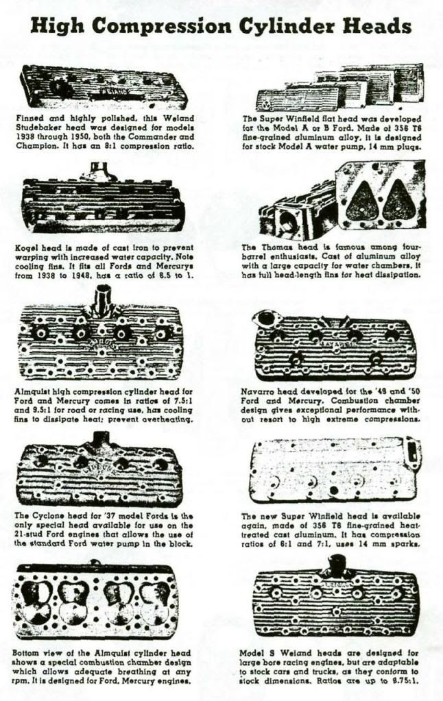Features Rare Flathead Heads Let S See Some Automobile