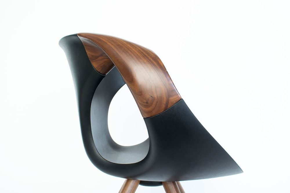 Tonon Up Chair 917 11 Wood Tonon Designer Stuhl Nussbaum Mbzwo