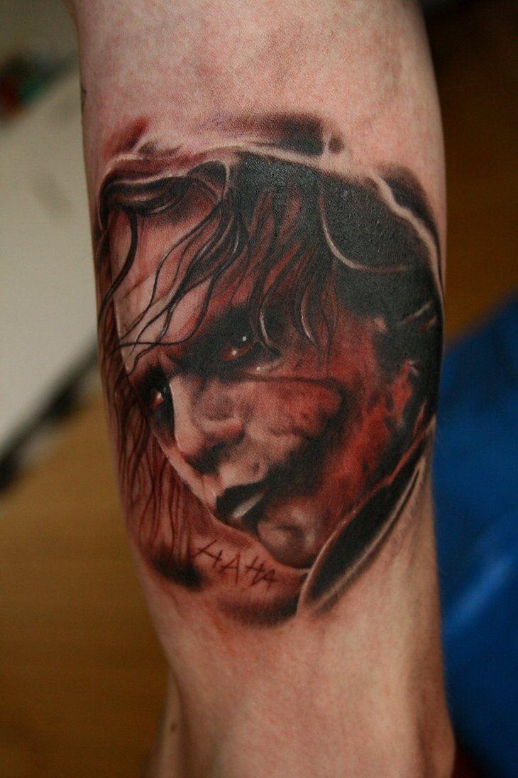 15 Full Sleeve Scary Joker Tattoo Design Ideas Ink Love