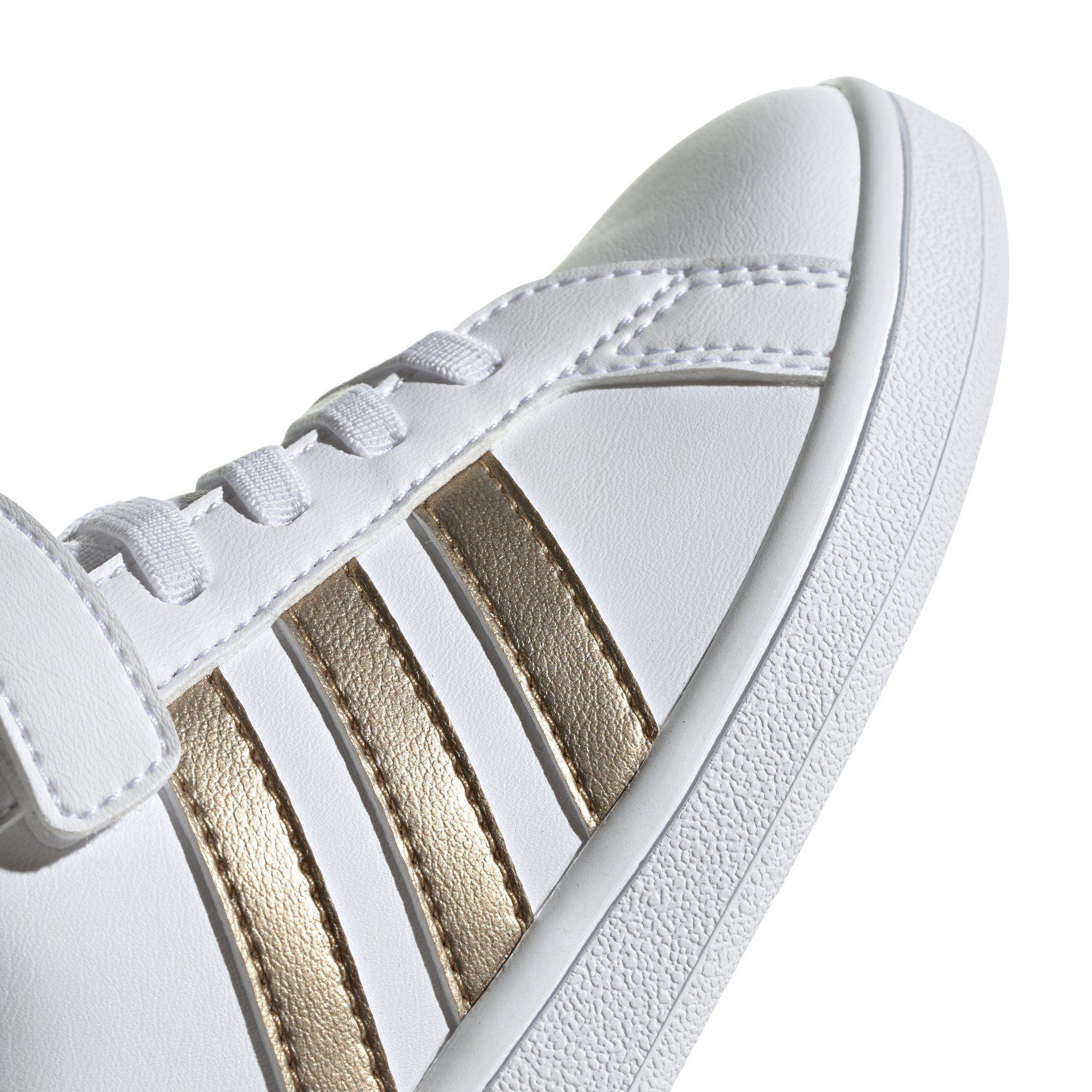 EF0107 Adidas - Grand Court C Shoes - Cloud White / Grey / Light ...