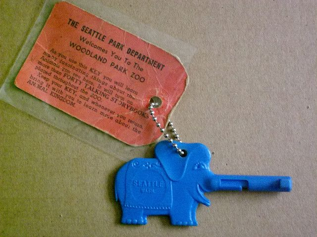 The Woodland Park Zoo Elephant Key Used Back In The 1960s To Turn On The Talking Storybooks Audio Tour San Francisco Zoo Seattle History Woodland Park Zoo