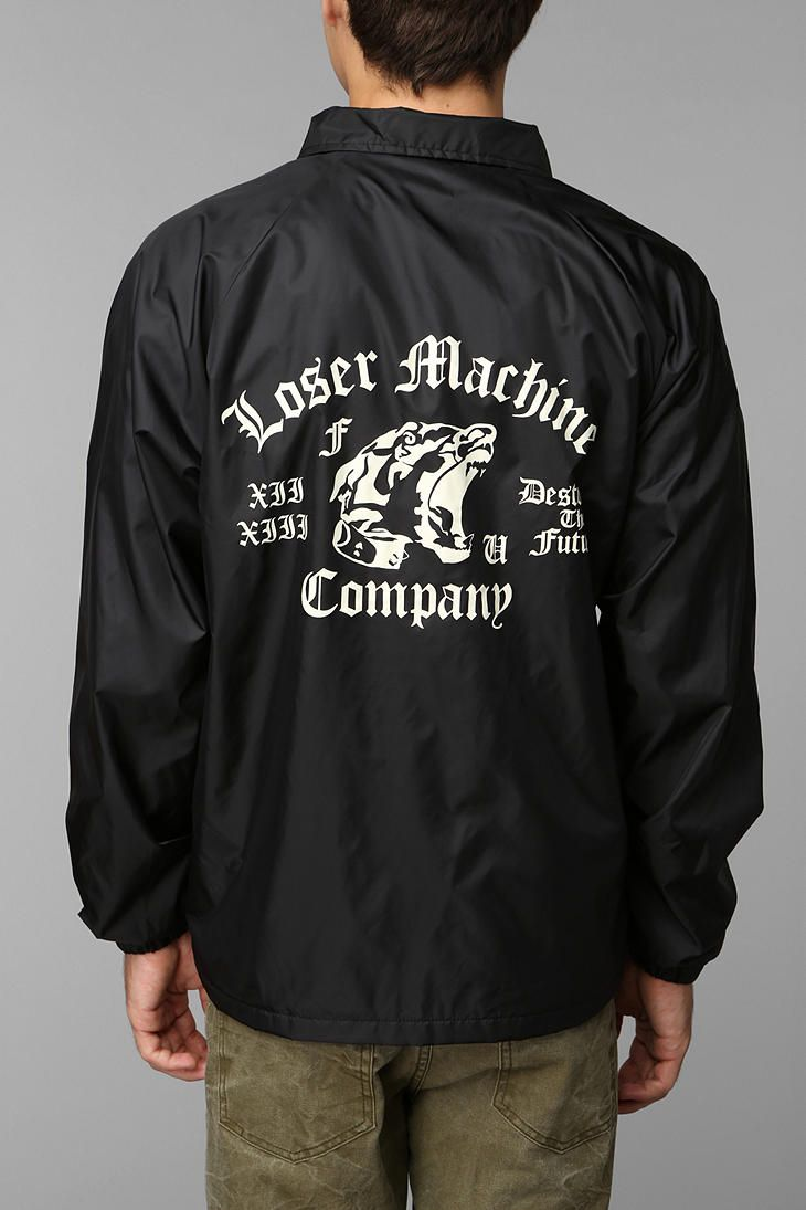 Loser Machine Attack Coaches Jacket