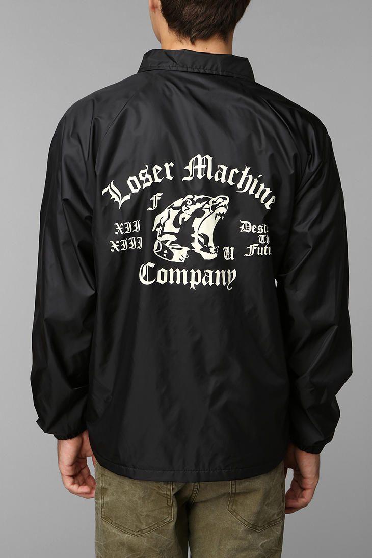 Loser Machine Attack Coaches Jacket