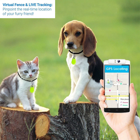 Mobile Phone Pet Smart Bluetooth Antilost Device Dog