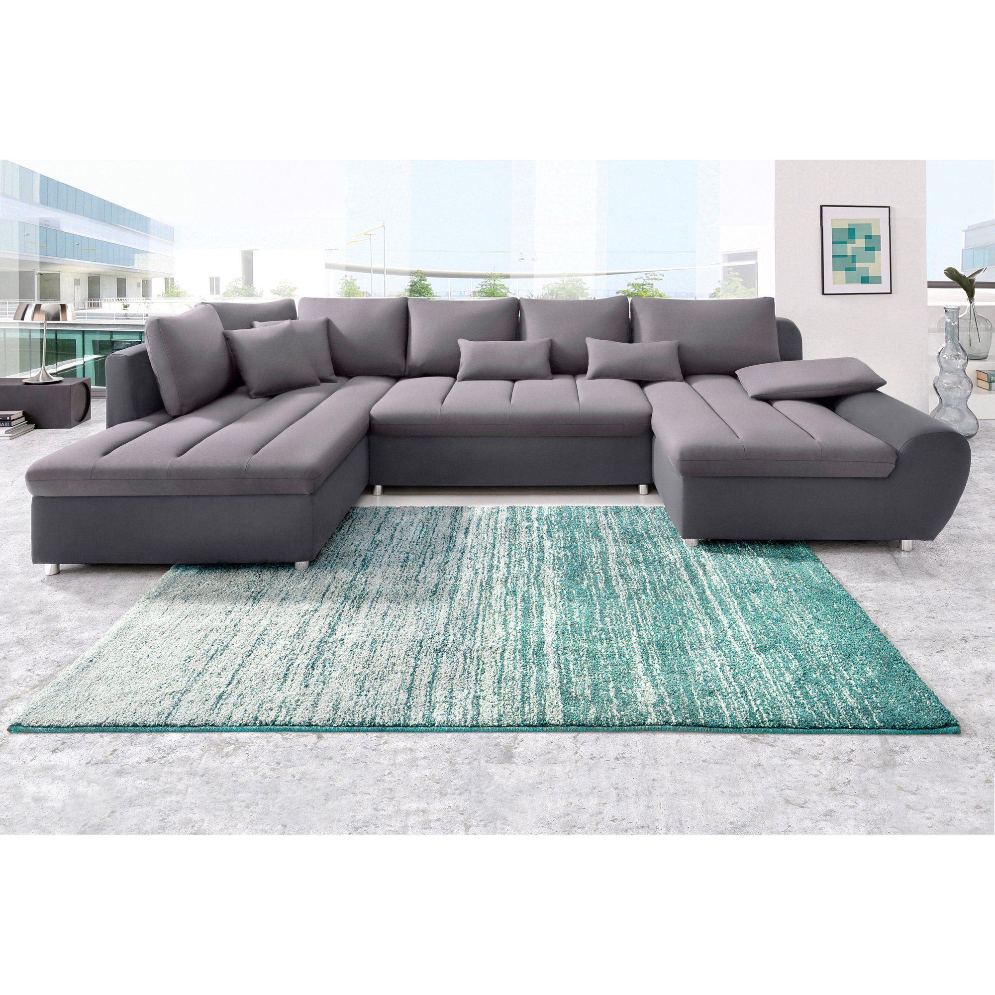 SIT amp MORE Wohnlandschaft ECO Bio, FSC XL Recamiere rechts ohne  Bettfunktion Cinema Room, 94508dbab3e8