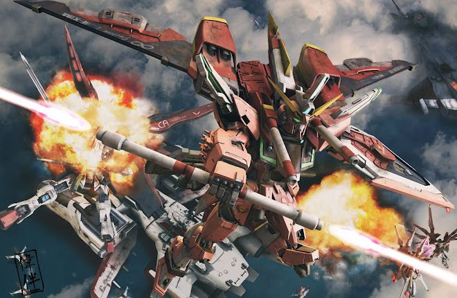 Infinite Justice Gundam Gundam Wallpapers Gundam Gundam Art