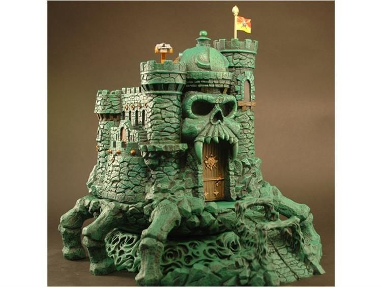 Castle Grayskull Statue Deluxe Accessory Kit - Masters of the ...