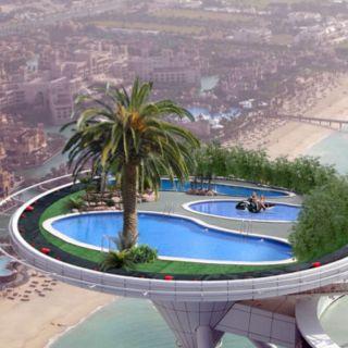 Sky Pool in Dubai!!