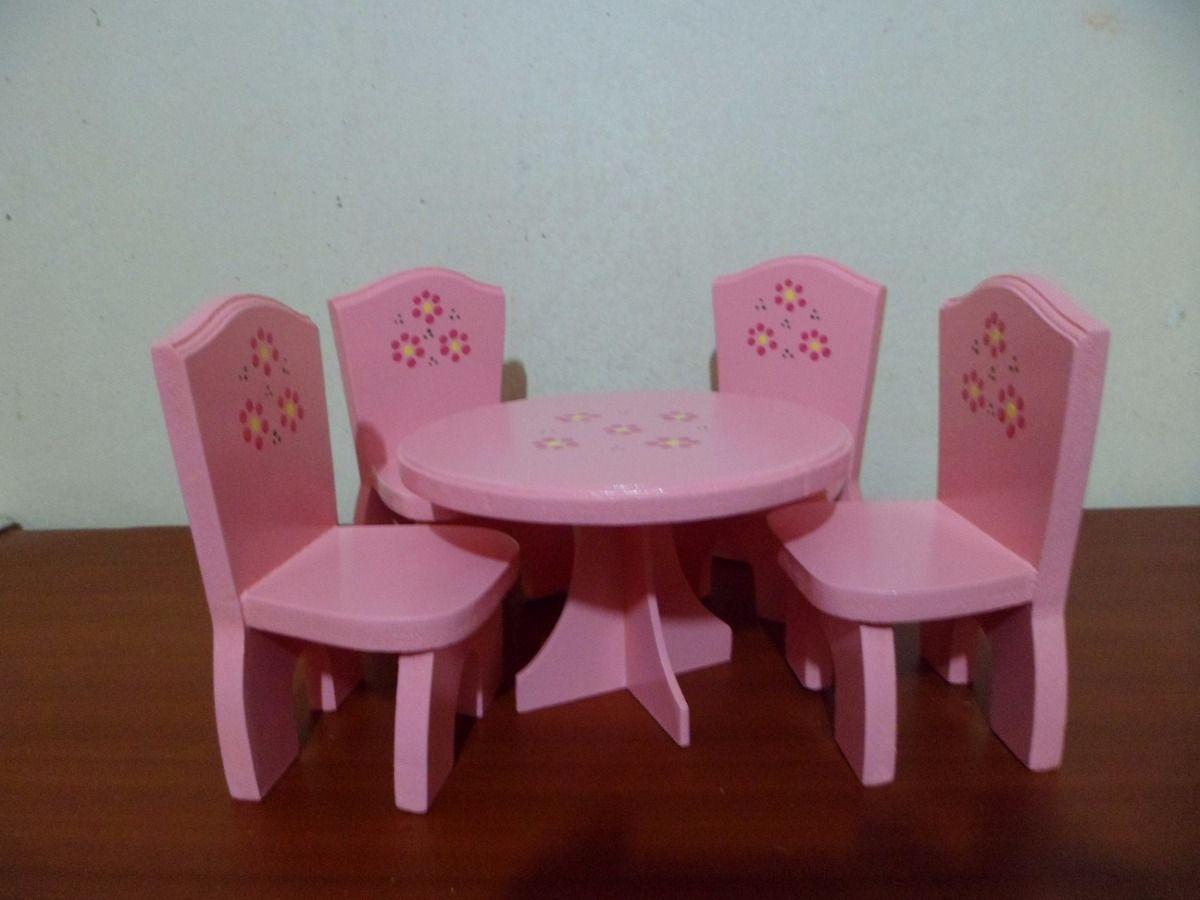 Muebles Para Casas De Mu Ecas Elaborados En Mdf Maracaibo En  # Muebles Fibrofacil Para Casa Munecas