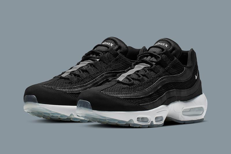 Nike's Air Max 95 Gets a Sleek Black and Grey Rework in 2019