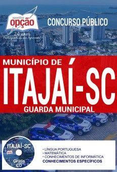 Apostila Concurso Municipio De Itajai 2017 Guarda Municipal