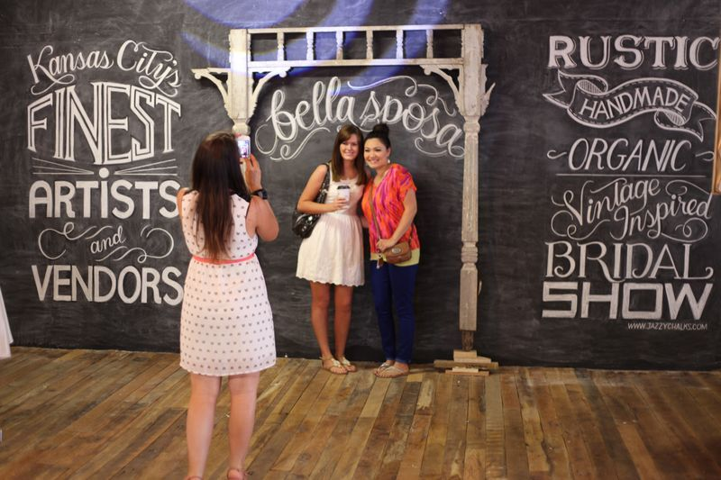 wedding backdrop photo booth chalkboard wall bella sposa vintage type design…