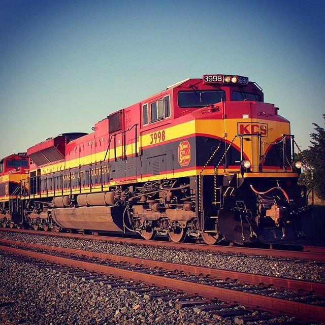 #KCS3998 #kcsrr #KansasCitySouthern #Railway #Railroad #Railfanning #TexasTrains #Trains_Worldwide #Daily_Crossing #locomotive  08/15/2015 - Copeville TX  by dthawk63