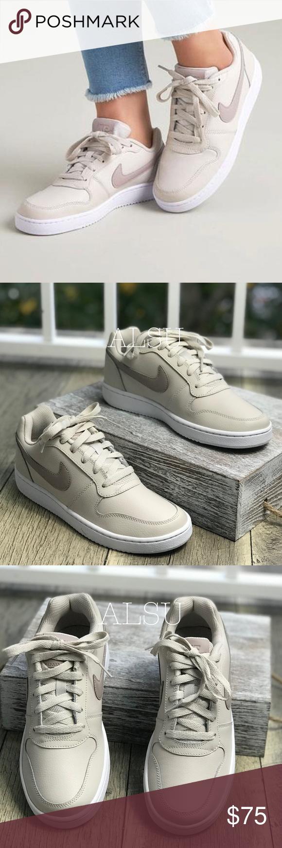 Nike Ebernon Low Sneaker Beige