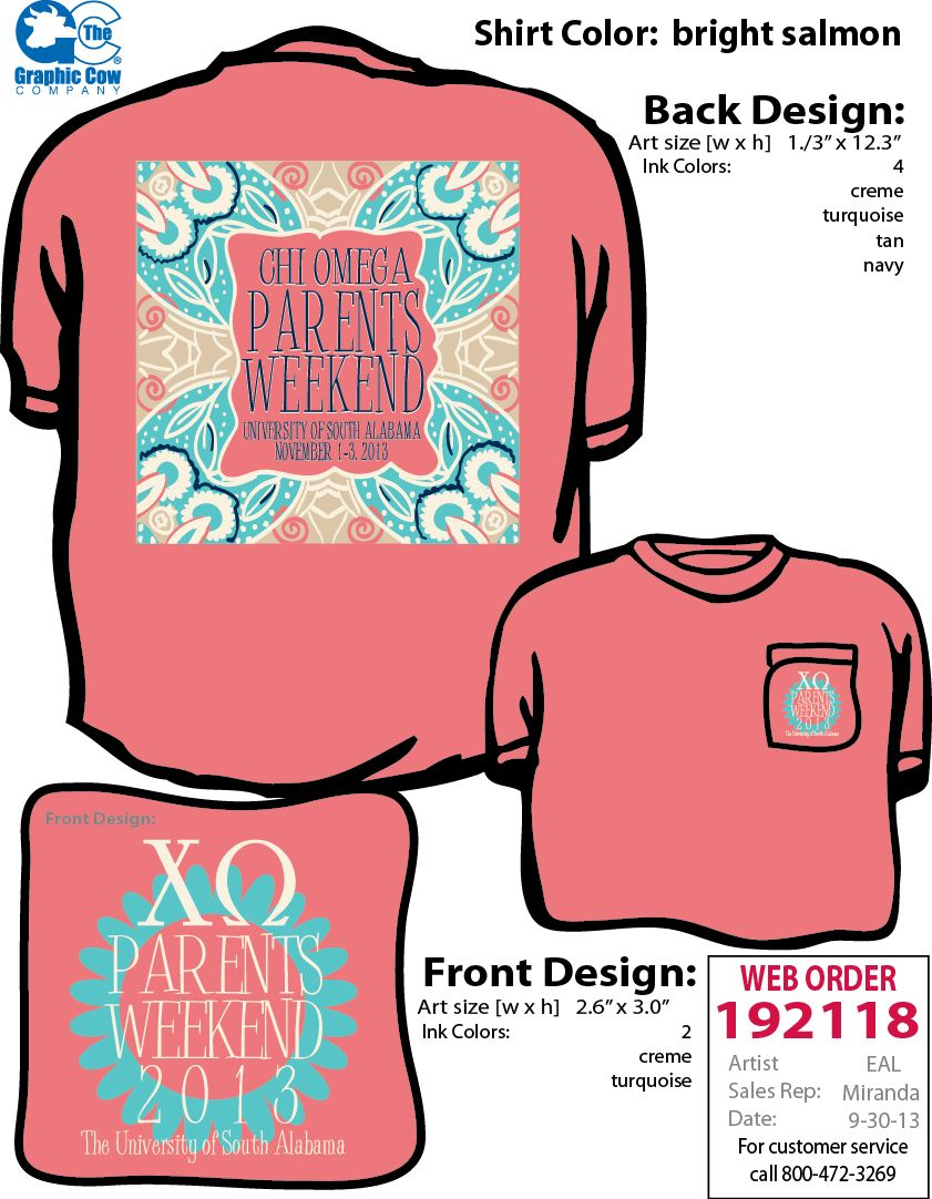 Shirt design for alumni homecoming - Chi Omega Parents Weekend Mom Shirt Sorority Shirt