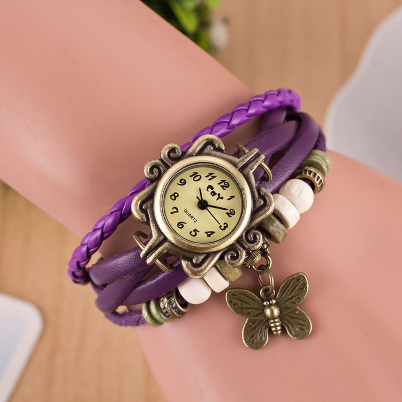 Retro Style Butterfly Bracelet Watch  89e71a5df6