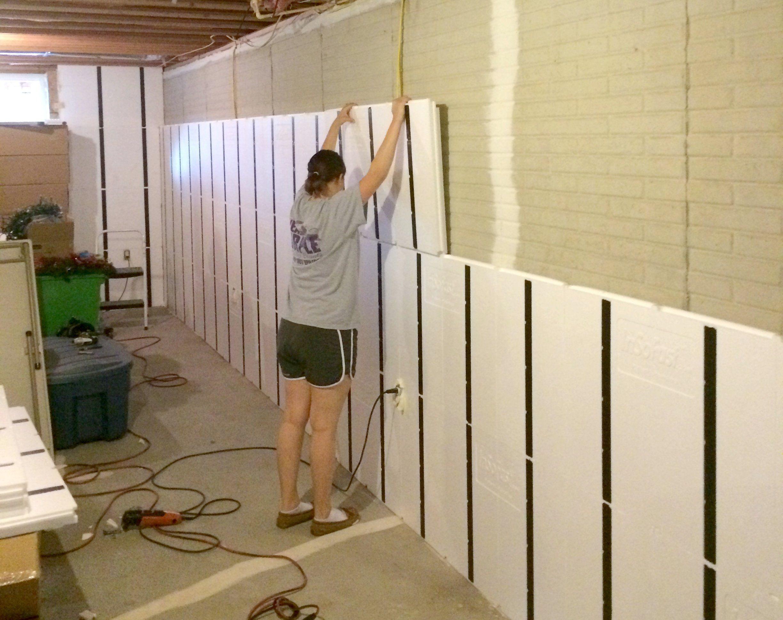 Drywall Basement Walls Without Insulation Finishing Basement Walls Basement Wall Panels Insulating Basement Walls