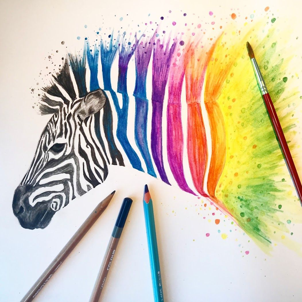 Beginners guide to watercolour pencils zieler using
