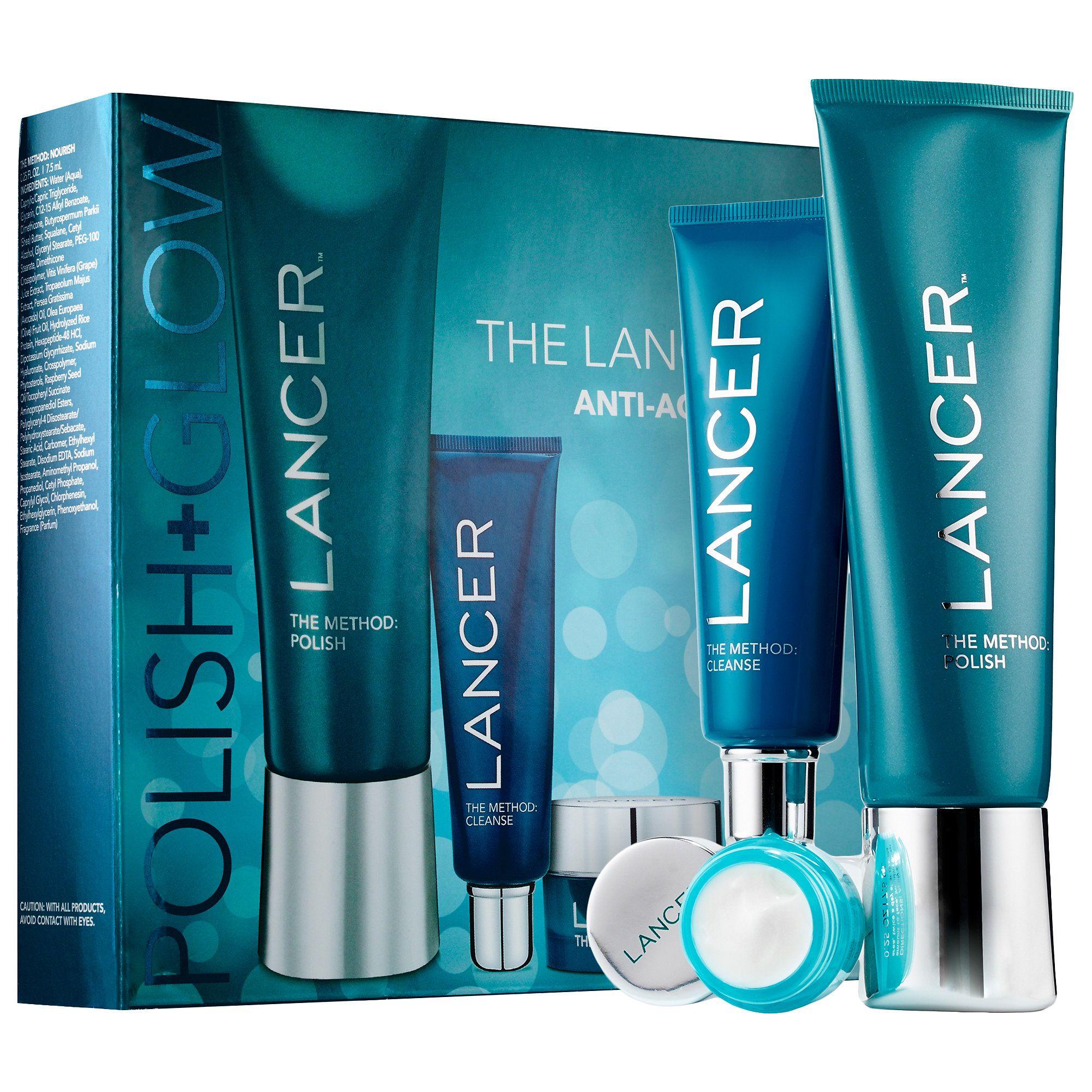 Sephora Lancer The Method Polish Glow Skin Care Sets Travel Value Lancer Skincare Sephora Hydrating Moisturizer