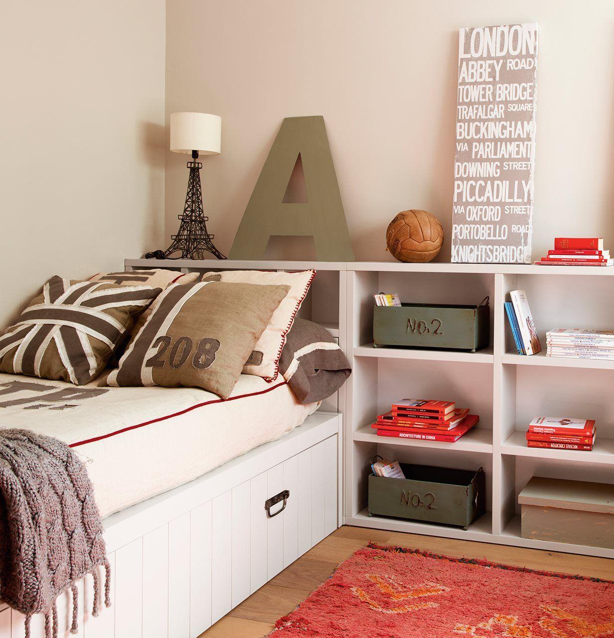 Un cuarto juvenil pensado al milímetro | cuarto | Pinterest ...