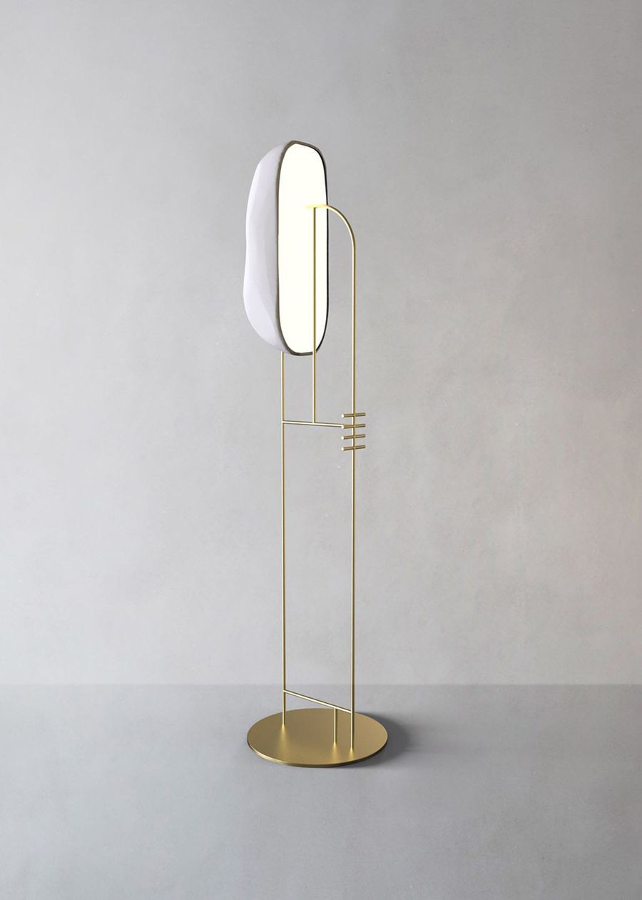 Moonstone Floor Lamp By Giopato Coombes Mdw2019 Lamp Floor Lamp Lighting Floor Lamp