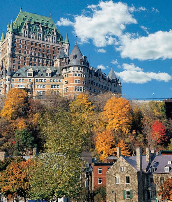 The 35 Best Hotels In Canada Readers Choice Awards 2014 Quebec City Canada Travel Frontenac