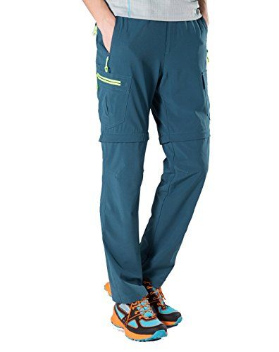 Makino Mens Convertible Quickdrying Hiking Pants M131611002 Click On The Image For Additional Details Mens Outdoor Clothing Outdoor Outfit Camping Outfits