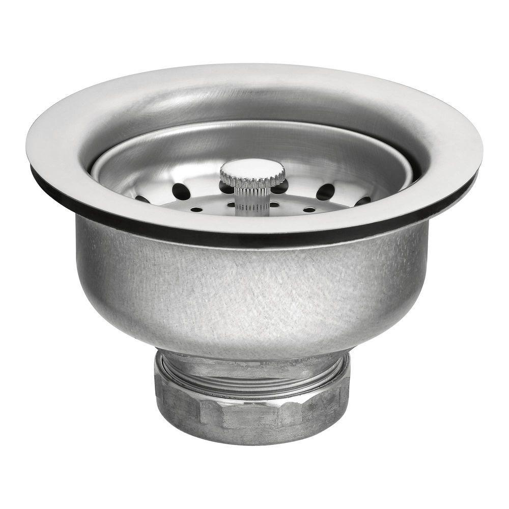 Moen Basket Strainer In Stainless Steel 22037 Kitchen Sink