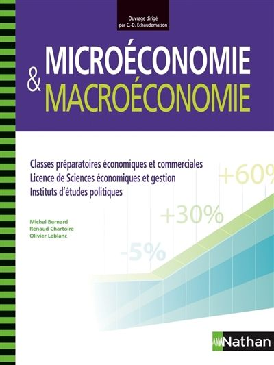 Manuel Couvrant L Integralite Du Programme Il Est Structure En 4 Modules 2 De Microeconomie Et 2 De Macroeconomie Et Est Economics Books Finance Education