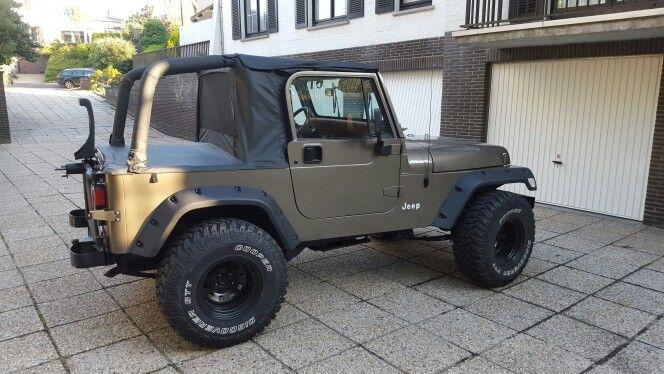 Jeep Yj Wrangler Halftop Soft Top Jeep Yj Jeep Wrangler Yj Jeep
