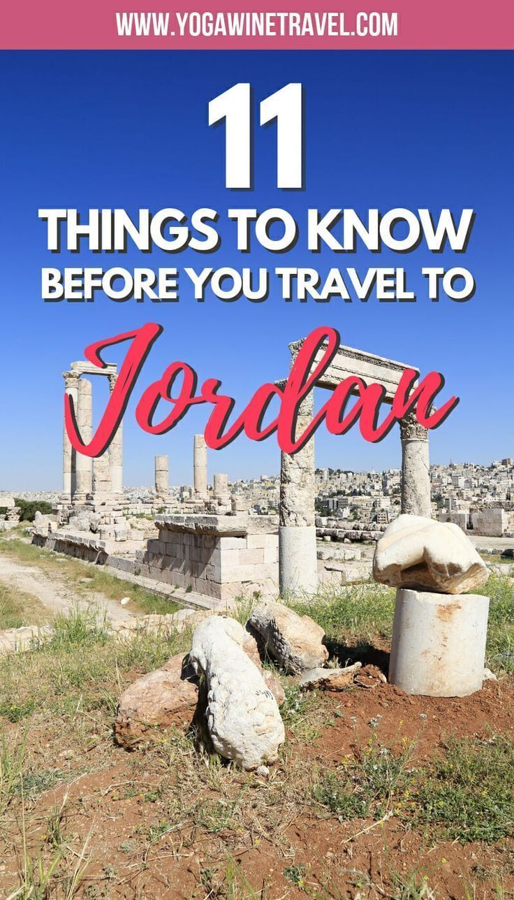 11 Things You Should Know Before You Travel to Jordan #traveltojordan 11 Things You Should Know Before You Travel to Jordan. Jordan is a small Middle Eastern country offering the most captivating cultural experiences, breathtaking sights and warm hospitality. If you're thinking about planning a trip to Jordan, there are some important things that you should know first - read on for essential Jordan travel tips and information! #traveltojordan 11 Things You Should Know Before You Travel to Jordan #traveltojordan