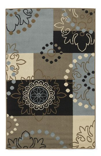 Black Blue Patchwork Area Rug Medium Rugs Patchwork Area Rug Rugs