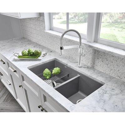 Performa 33 L X 19 W Double Basin Undermount Kitchen Sink Best Kitchen Sinks Kitchen Remodel Diy Kitchen