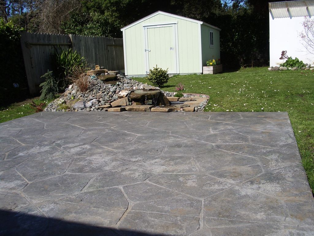 Genial Colored Cement Patio   Concrete U0026 Patios Photos