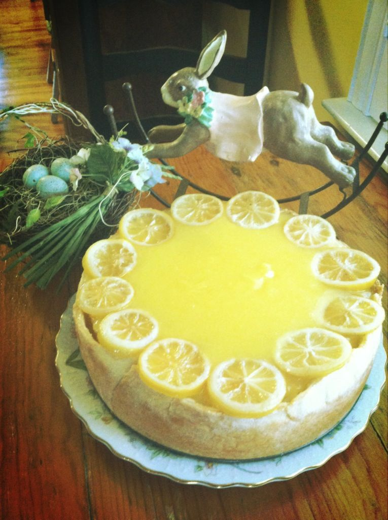 Southern Living - lemon cheesecake